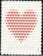 5431 Forever Made of Hearts  Mint Single 5431nh