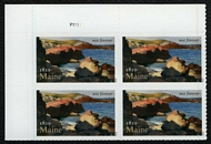5456 Forever Maine Statehood Mint Plate Block of 4 5456pb