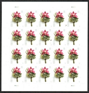 5457 Forever Contemporary Boutonniere Mint Sheet of 20 5457sh