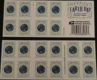 5459a Forever Earth Day  Mint Booklet of 20 5459a