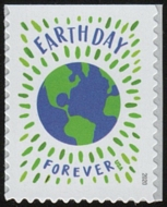 5459 Forever Earth Day  Mint Single 5459nh