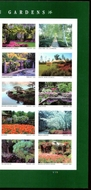 5461-70 Forever American Gardens  Mint Plate Block of 4 5461-70pb