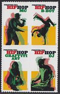 5480-83 Forever Hip Hop Mint Block of 4 5480-83blk