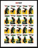 5480-83 Forever Hip Hop Mint Sheet of 20 5480-3sh