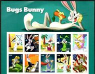 5494-5503 Bugs Bunny Mint Header Block of 10 5494-5503top