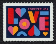 5543 Forever LOVE Mint  Single 5543nh