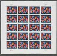 5543 Forever LOVE Mint Sheet of 20 5543sh