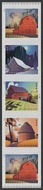 5550-53 Postcard Rate Barns Mint  Coil PNC of 5 5550-3nh