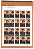 5555 Forever August Wilson Mint Sheet of 20 5555sh