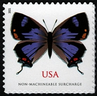 5568 (2 ounce rate) Colorado Hairstreak Butterfly Mint  Single 5568nh