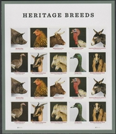 5583-92 Forever Heritage Breeds Mint Sheet of 20 5583-92sh