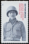 5593 Forever Japanese American Soldiers of WWII Mint  Single 5593nh