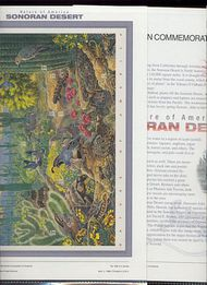 3293 33c Sonoran Desert USPS CAT 566 Commemorative Panel 19177