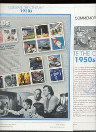3187 1950's Celebrate The Century USPS CAT 571  Commemorative Panel cp571
