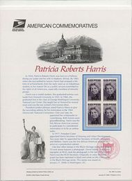 3371 33c Patricia Roberts Harris Commemorative Panel 594 cp594