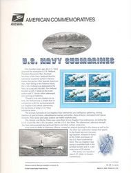 3372 33c Submarine Commemorative Panel CAT 595 cp595