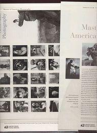 3649 37c Photography sheet Commemorative Panel CAT 654 19107