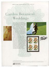 3837 60c Garden Blossom Commemorative Panel CAT 705 cp705