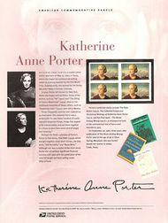 4030 39c Katherine Anne Porter Commemorative Panel CAT 764 CP764