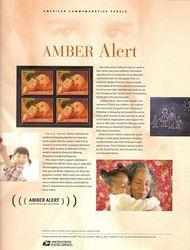 4031 39c Amber Alerr Commemorative Panel CAT 765  CP765