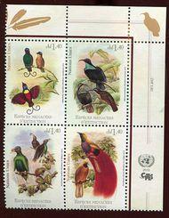 UNG 597-600 1.40 Fr Endangered Species ung597blk