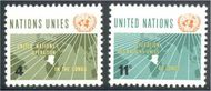 UNNY 110-11 4c-11c Congo UN New York F-VF Mint NH NY0110-11