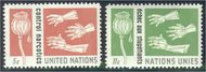 UNNY 131-32 5c-11c Narcotics UN New York F-VF Mint NH NY0131-32