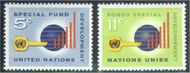 UNNY 137-38 5c-11c Develop. Fund UN New York F-VF Mint NH NY0137-38