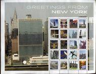 UNNY 1112 Greetings from NY Personalized Sheet ny1112