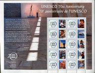 UNNY 1124 UNESCO Personalized Sheet ny1124