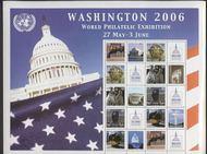 UNNY 903-7w 84c Personalized Wash 2006 sheet of 10* ny903shwash