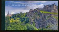 UNG 659 1 fr, 1.5 fr World Heritage UK Prestige Booklet ung659bk