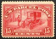 Q 7 15c Parcel Post Automobile Service, F-VF Unused q7og