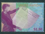 UNNY 1194 $2.50 Human Rights Definitive Mint NH unny1194