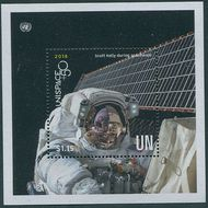UNNY 1198 $1.15 UNISPACE Sovenir Sheet 1198ss