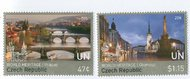 UNNY 1142-3 47c,$1.15 UNESCO Czech Republic Mint Set of 2 ny1142-3nh
