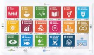 UNNY 1147 47c Sustainable Goods Mint Sheet of 17 ny1147