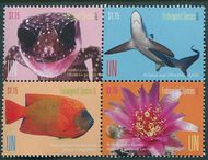 UNNY 1162-1165 $1.15 Endangered Species Block unny1162-5