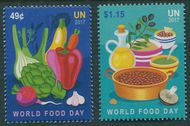 UNNY 1175-1176 48c, $1.15 World Food Day Set of 2 unny1175-6nh