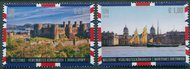UNV 626-7 €90 Ç1.80 World Heritage UK Singles Mint NH unv626-7
