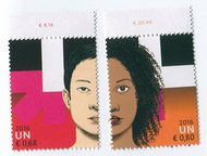 UNV 581-82 €68, .80 He for She Mint Singles UNV581-2NH