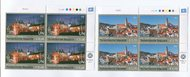 UNV 592-93 €68,1.70 UNESCO Czech Rep Inscr. Blocks unv592-3ib