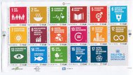 UNV 597 €68 Sustainable Goods Sheet of 17 ung597sh