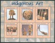 UNNY 897 37c Indigenous Arts sheet ny897