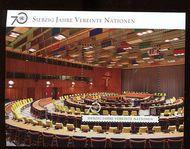 UNV 576 Ç1.70 UN 70th Anniversary Souvenir Sheet unv576