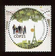 UNV 578 €80 COP 21 Inscription Block of 4 ung578ib