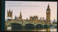 UNNY 1201 World Heritage UK Prestige Booklet unny1201pr