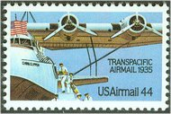 C115 44c TransPacific Airmail F-VF Mint NH c115nh