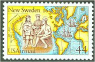 C117 44c New Sweden F-VF Mint NH c117nh