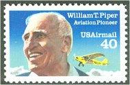 C129 40c William Piper F-VF Mint NH c129nh